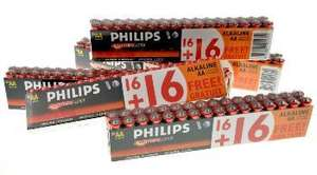 160 Philips Power Life Batterie AA Mignon für 19,99 EUR