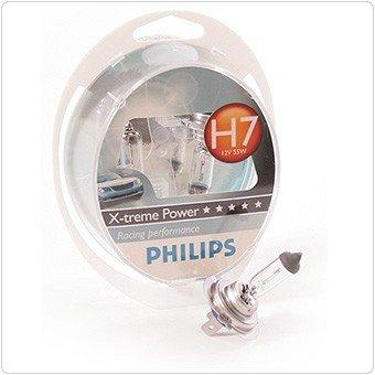 Philips X-treme Power 12V H7 Halogenlampe +80% 2er SET für 14,85 (9,90+4,95)