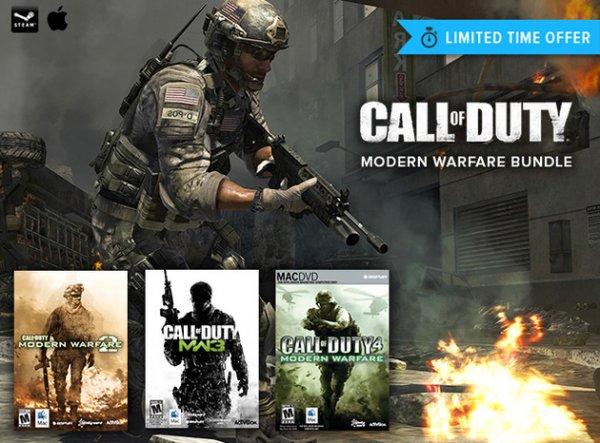 [Mac] [STEAM] Call of Duty: Modern Warfare Trilogy Bundle für 30€ // ~ 40% Ersparnis