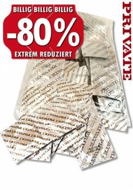 [Dildoking.de] 100 Stück  PRIVATE Kondome zum Bestpreis von 3,16€ plus 7 Gratisartikel inkl. Versand