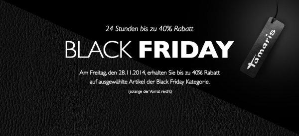 40% Rabatt bei Tamaris in der Black Friday Kategroie
