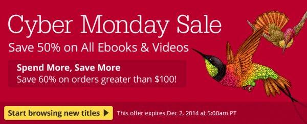 O'Reilly & Pragmatic Bookshelf: 50% auf eBooks (IT-Fachliteratur, DRM-frei)