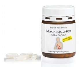 2 Monatspackung Magnesium 400mg (60 Kapseln) absolut gratis inkl. Versand