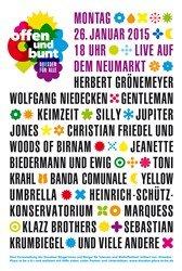 Dresden  Neumarkt - 26.1.2015 um 18 Uhr - gratis Konzerte u.a. Grönemeyer, Silly, Adel Tawil