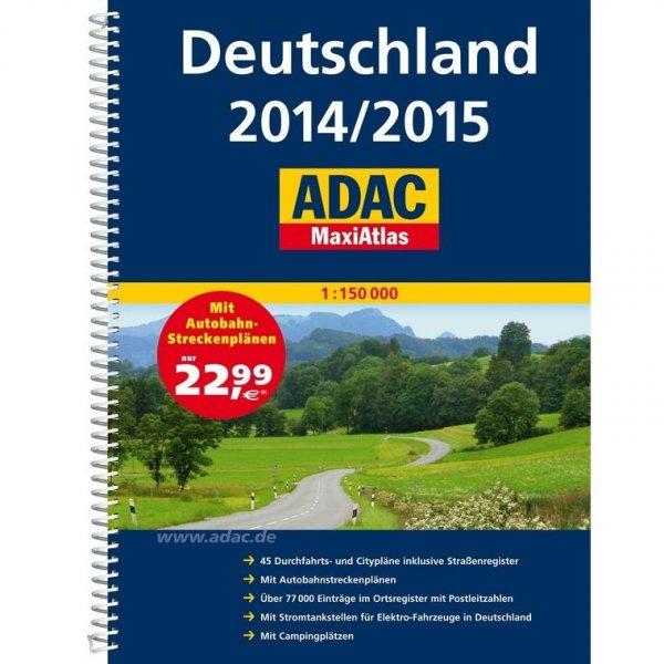 ADAC MaxiAtlas Deutschland 2014/2015 (B-Ware) für 9,99€ @Marco Polo