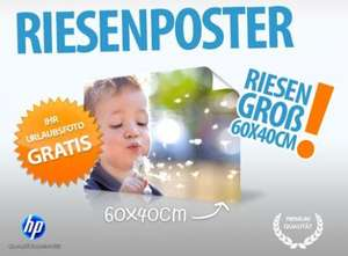 60x40cm Poster für 4,95€ VSK