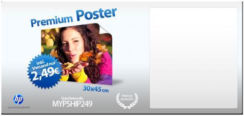 Poster 30x45 @ myprinting.de für 2,49€