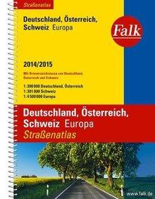 Falk Straßenatlas Deutschland, Österreich, Schweiz, Europa 2014/2015 1:300000 @Marco Polo