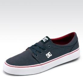 DC Trase Sneaker in Dunkelgrau, Grün und Royalblau, viele Größen vorhanden. [gebrueder-goetz.de]