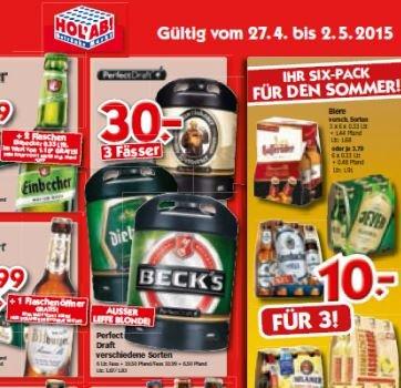 Perfect Draft Faß zum Bestpreis: 3 Stück (18 Liter) 30,- € / Holx27Ab (Norddeutschland)