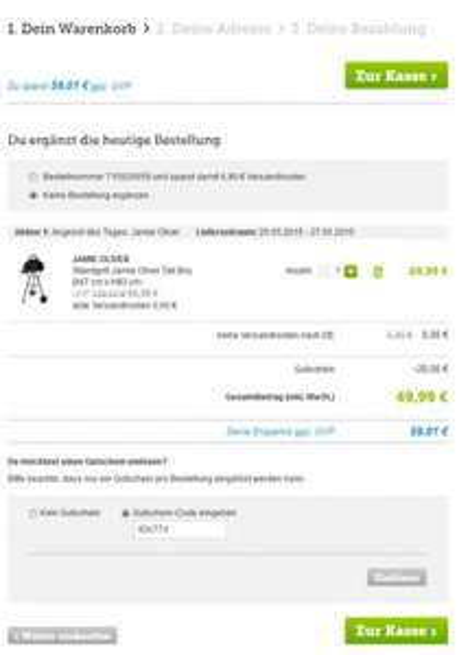 [B4F] Standgrill Jamie Oliver Tall Boy Ø47 Vsk-frei UND 20€ Gutschein für 49,99€