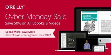 50% auf E-Books und Videos von O'Reilly @Black Friday