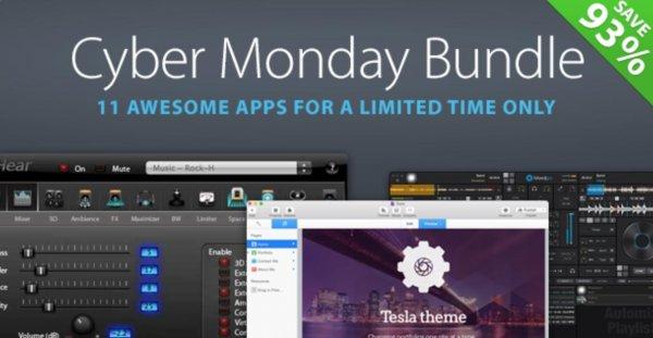 (MAC) Das Cyber Monday Bundle von MacUpdate mit 11 Apps