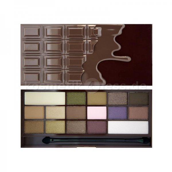 Make Up Revolution - exaktes Dupe zur Too faced - Chocolate Bar Palette @kosmetik4less.de