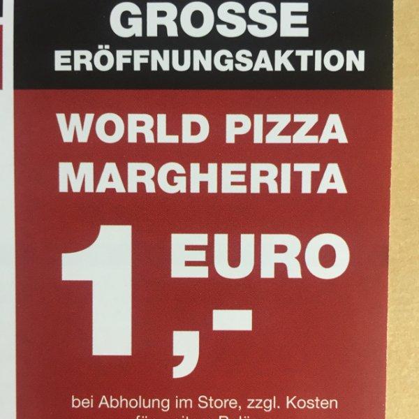 (Lokal Erfurt) (World of Pizza) - Pizza Margherita