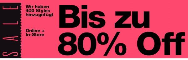 American Apparel bis zu 80% Rabatt !!! (evtl. Newsletter-Gutschein 15%)