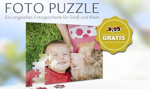Fotopuzzle nur Versandkosten für 4,99 bei myprinting