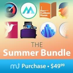 (MAC) MacUpdate Summer Bundle mit 10 Apps inkl. Toast 15 Titanium - 91% sparen