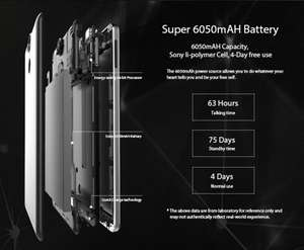 "Der Preis ist heiß! Ulefone Power 5.5"" FHD Android 6 4G Phone 13MP SONY 3GB RAM 6050mAh Octa-Core CPU@tinydeal aus DE zu 149,49€"