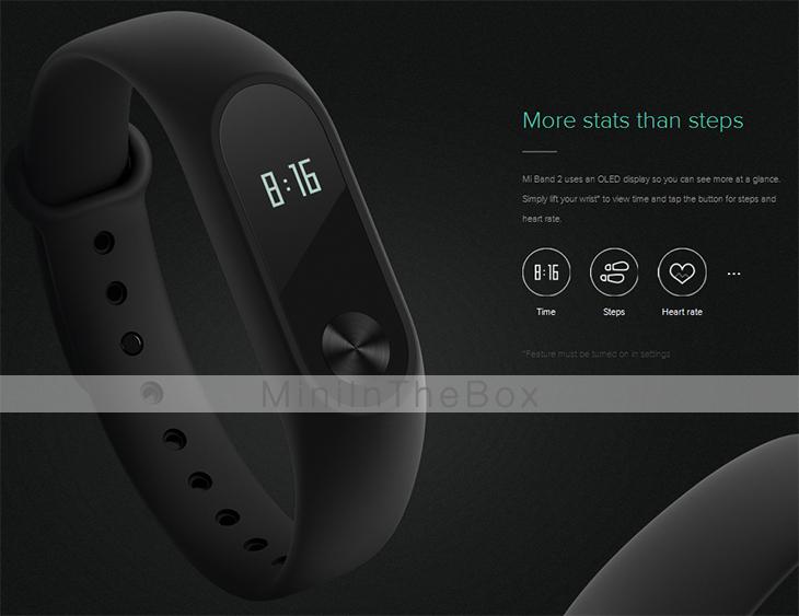 Xiaomi Mi band 2 Smart Bracelet nur 23 Euro !