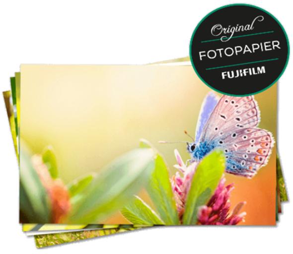110 Fotos im 10er Format für 4,89€ bei Fujidirekt über Neukundencoupon