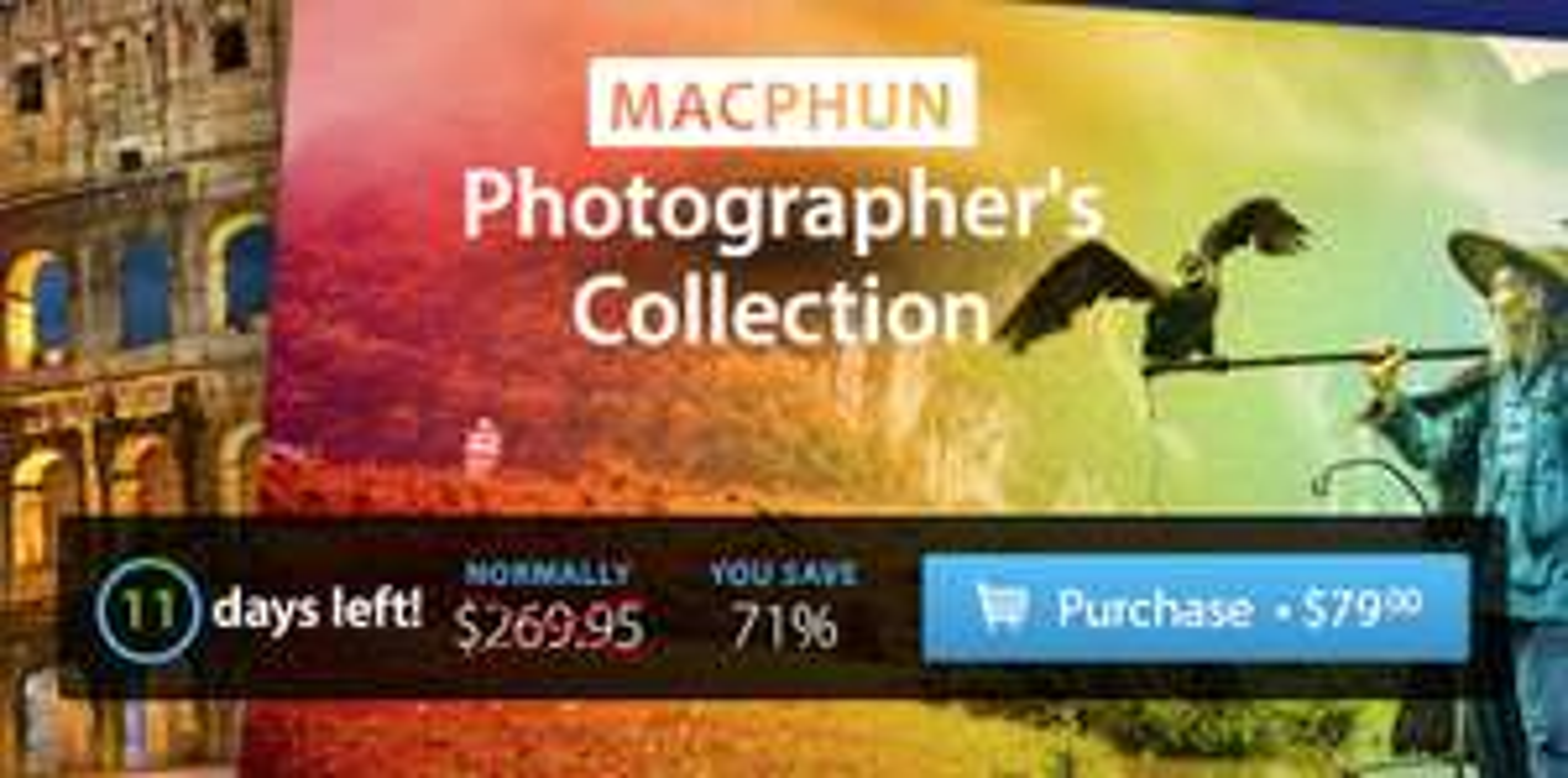 (MAC) MacPhun Photographer's Collection Bundle mit 5 Foto-Apps für 70€