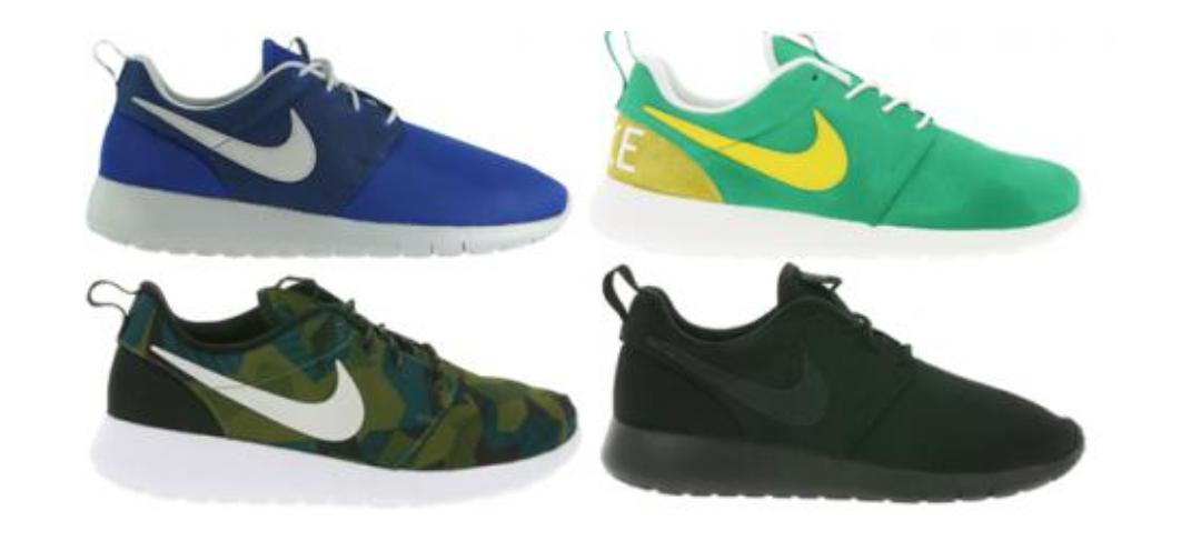 Nike Roshe Run Damen & Herren Sneaker im Sale - viele Modelle für 29,99€
