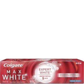 Colgate Zahncreme Max White Expert 75ml für 1,99€ + Versand 3,95 €, kostenloser Versand möglich