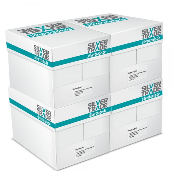 (silvertrade)  10.000 Blatt Silvertrade Kopierpapier DIN A4 80g / m² weiß