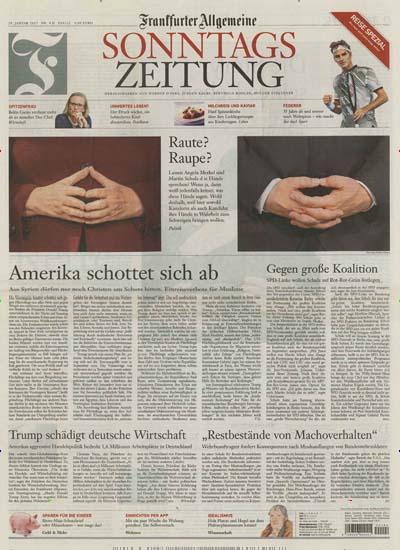 [MAGCLUB] 12 Ausgaben Frankfurter Allgemeine Sonntagszeitung (Print) für 48,10€ + 20€ Aral Geschenkkarte + 35€ Shopping Bon (inkl. Amazon)