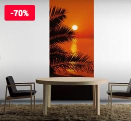 Komar Fototapete Sunset (92 x 220 cm) für 5,47€ (Fototapete)