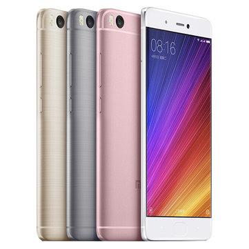 Xiaomi mi 5s Gold und  Grey (für 269,87 Euro)