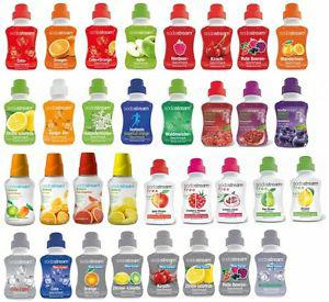 Sodastream Sirup (mit & Ohne Zucker) verschiedene Sorten *2er & 4er Set*(AB 6,66€)