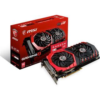 8GB MSI Radeon RX 480 Gaming X Aktiv